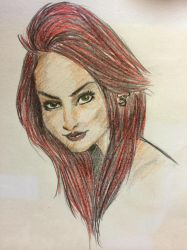 Redhair by PaolaRizo