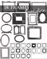 Frame brushes set 2 by Lileya