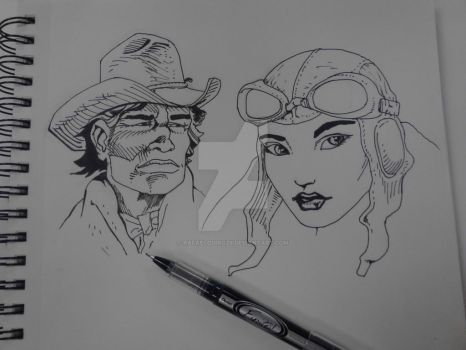 trying out some moebius by rafaelquiroz9