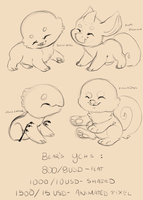 Mixed Closed Species YCH (CLOSED FOR NOW) by FluffleBear