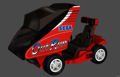 'Sonic and Sega' Ryo Hazuki's Car XPS ONLY!!! by lezisell