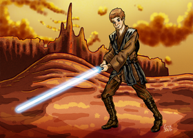 Anakin Skywalker by Erikku8