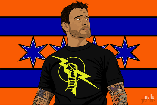 CM Punk by TheMello