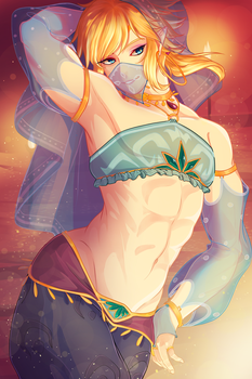BotW Link by BeefxCake