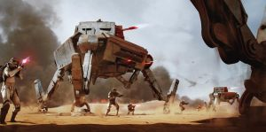 AT-AP - All Terrain Attack Pod by WojtekFus