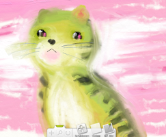little tiger: blurring around with ArtRage2 xD by NanakoHarrison