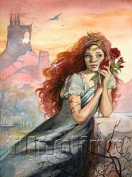 Heart Of The Rose by Flingling