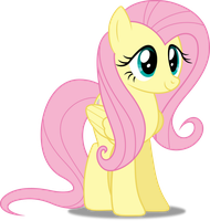Vector #289 - Fluttershy #17 by DashieSparkle