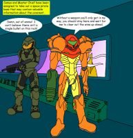 Metroid-Halo crossover 1 by Wakeangel2001
