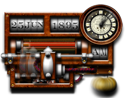 Steampunk War of the Worlds icon by yereverluvinuncleber