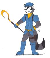 Sly Cooper by Gabrielianthenook