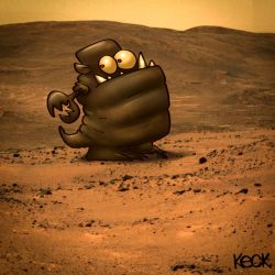 Martians Especially Leery of Rovers Recently by davekeck