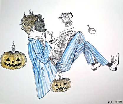 Day 25 - Halloween by KidCurious