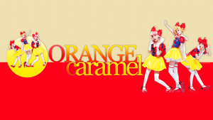 WALLPAPER - Orange Caramel by chazzief