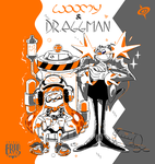 WOOMY and DR. EGGMAN by SPIRALCRIS