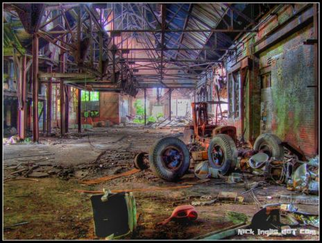 CathedralOfIndustrialDecay HDR by nickinglis