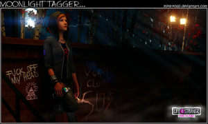 Life is Strange - Moonlight tagger by Mike-Kossi