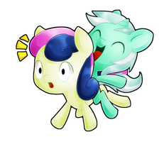 LyraBon by PegaSisters82