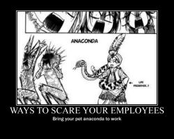 Ways to scare your employees by lilarcana2891