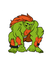 Blanka  from Street figther by filipeG