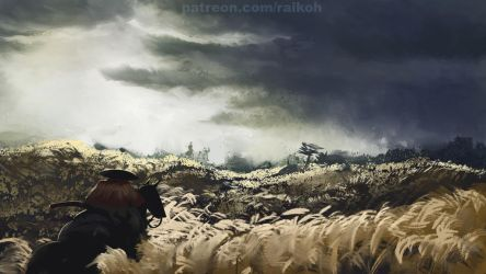 Ghost of Tsushima study 1 by Montano-Fausto