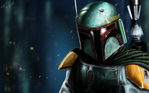 Boba Fett by theMagicals