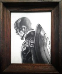 Captain America by sketchabeth