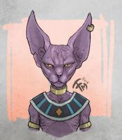 Dragon Ball Super - Lord Beerus by francescosketch