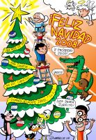 Christmas Card 2008 by Juanele