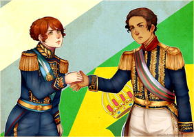 AT: Argentina y Brasil by louflash123