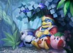rainy forest by rike-e
