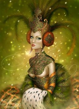 Emerald Queen by mashamaklaut