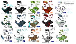 Feline Point Adoptables-OPEN by catdoq