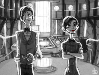 Doctor Who Paperman by Redundantthoughts
