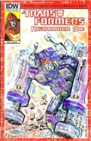 Rumble IDW Transformers Sketchcovers by mannycartoon