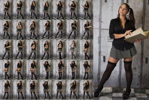 Stock: Julia School Girl Standing - 35 Images by stockphotosource