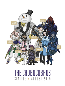 The Chobocobros by Vikanda