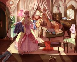 Sol and Lilja: Room full of Trinkets by Nagisako