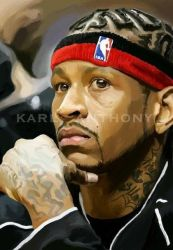 Allen Iverson by karl-anthony
