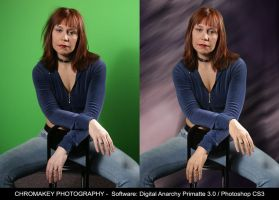 Chromakey Photography 1 by monroeart