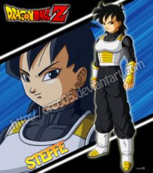 Steffe - Dragon Ball Xenoverse OC by orco05