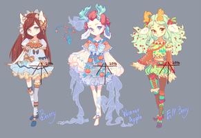 [OPEN] Auction - girls Deer Adopts! by Hell-Alka