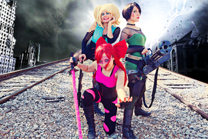Post-Apocalyptic PowerPuff Girls by Jennizzle
