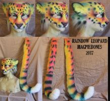 Rainbow Leopard by Magpieb0nes