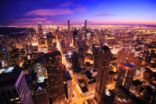 Chicago Skyline by porbital