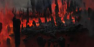 Hellfire Ashes by ChrisCold
