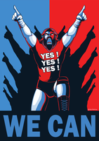 WWE: Yes We Can by Oniwanbashu