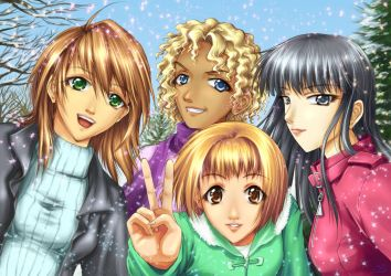 Wintry Greetings by sonialeong
