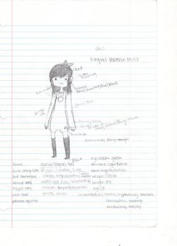 Raquel OC Reference by izumibutterfly