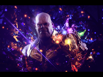 Thanos - Avengers signature by Arcaste